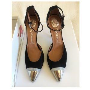 Jeffrey Campbell Black Suede Koons Shoe